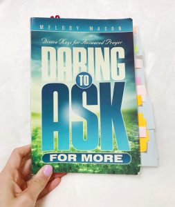 How To Ask God For What Truly Matters - Daring to Ask For More by Melody Mason. Eyes on Him Book Club on Flawed & Faithful Blog.